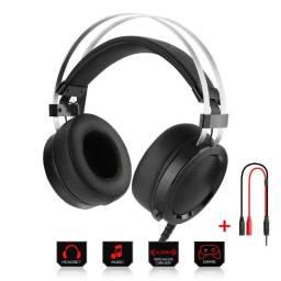 Headset Gamer Redragon Scylla P2 Preto H901- NOVO