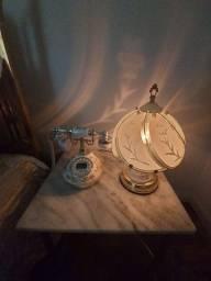 Telefone e Abajour estilo Vintage (Adornos)