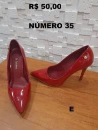 Sapatos Femininos Seminovos ? Entrego amanhã (17/04) com Taxa ? Aceito Cartão.