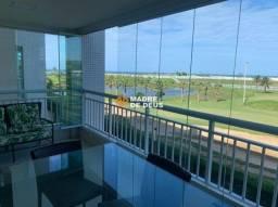 Golf Ville Resort 115m², com 3 Suítes, 2 Vagas, Vista Mar e Nascente.