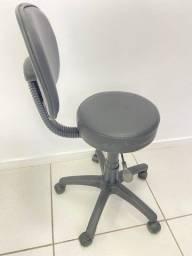 Cadeira Mocho - Preto - Nova