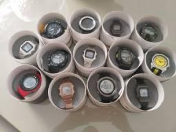 13 relógios marcas Tuguir e SKMEI originais