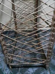 Estante de bambú