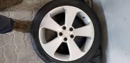 Jogo de rodas chevrolet cruze 2012 rodas com pneu