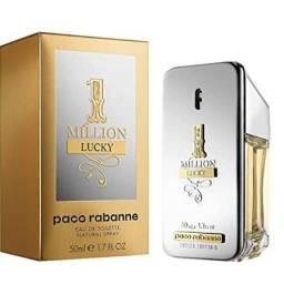 Perfume 1 Million Lucky 50ml ou Kouros Silver 100ml Original Lacrado.