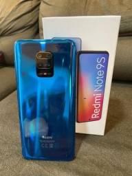 Note 9s 64 GB/4GB Ram Cinza/Azul
