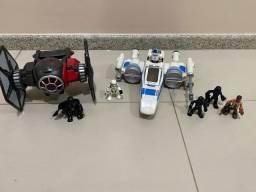 Brinquedos imaginex do star wars