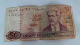 Cédula- troco por moedas