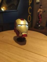 Capacete Iron man Metal Diecast. Homem de Ferro em Metal.
