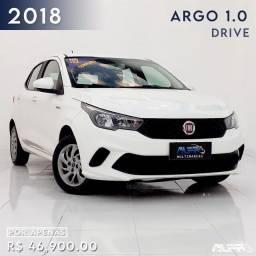 Fiat - Argo Drive 1.0 Flex / 2018 Completo !! Baixa Quilometragem