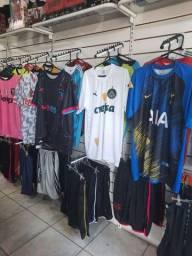 Camisetas de times brasileiros e europeus atacado