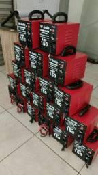 Carregador  de  bateria  150 amperes  voltimetro