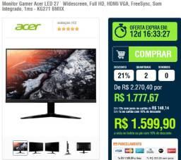 monitor acer gamer 27 75hz