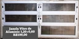 Janela vitro de Alumínio