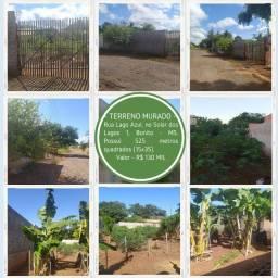 Terreno murado no paraíso - Solar dos Lagos 1