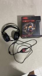 Headset Gamer Dex Vibration DF-97 7.1 Stereo
