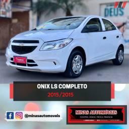 Onix LS Completo com apenas 51 mil rodados 15/15