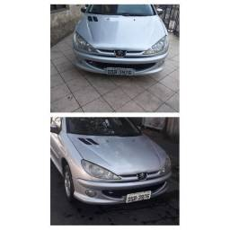Peugeot 206 2006 Flex  1.4 completo