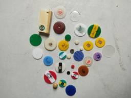 Coleção de jogos de botão antigos a partir de 35 cada peça