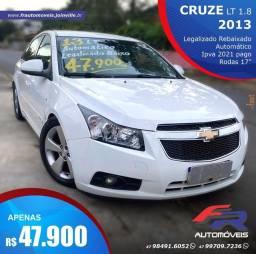 CRUZE LT 2013 AUTOMÁTICO 47.900,00