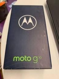 "Moto G10 4Gb Ram 64 Gb - Tela 6,5"" Android 11"