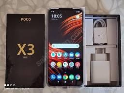 Celular poco x3 NFC 64GB. Troco por A71