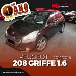 Peugeot 208 Griffe 1.6 16v Teto Panoramico