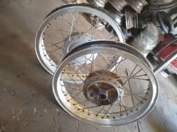 Rodas montard da Titan 150