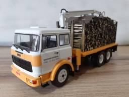 Caminhão Miniatura fiat 190H metal 1:43