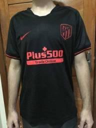 Camisa preta Atlético de madrid