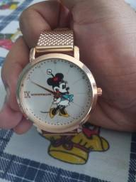 Relógio feminino miniie modelo novo entrego