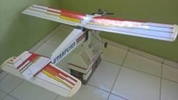 Aeromodelo Treinador Starflyer-40 + Asp52 + Caixa De Campo