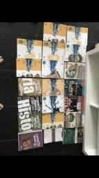 Livro de história todas coleção de 350 por 150 Reais