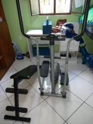 Elíptico magnético Athletic Works + Prancha abdominal Polimet