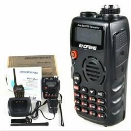 Radio Baofeng A-52 Dual Band Uhf/Vhf 136-174/400-520 HZ Walkie Talkie