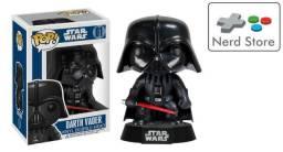 Funko Pop! Star Wars: Darth Vader #01 (usado Na Caixa)