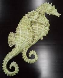 Cavalo-marinho Casal decorativo- ref 3033, decoração pra praia
