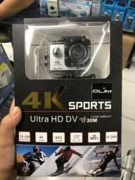 Câmera de ação 4K Sports Ultra Hd Dv H.264 A Prova Dágua
