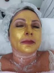 Máscara Ouro