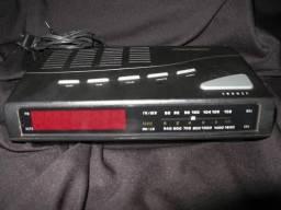 Radio-relógio Despertador Precision Pc 80s