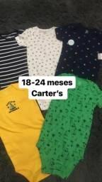 Kit body Carter?s 5 peças Promoção
