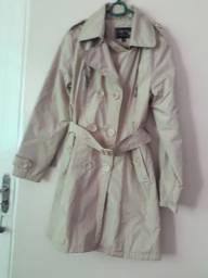 Vendo casaco cor de pele feminino