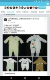 Vendo lote de bebê de 6 a 9 meses