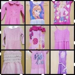 Lote de roupa infantil menina (pra menina de 4 a 5 anos