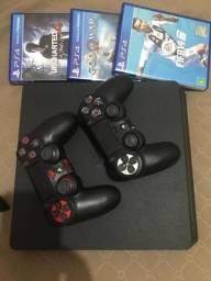 PlayStation 4 1 Tera . literalmente novo 12x no cartão