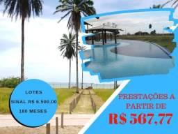 Costa de Itapema - Lotes em condomínio - Saubara - praia privativa