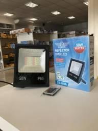Refletor LED de 50W RGB