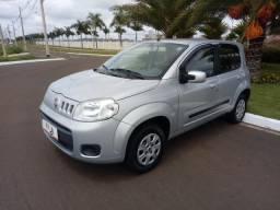 Fiat Uno Vivace 1.0 Prata 2012 - 2012