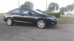 Honda Civic LXS 2014 Automático Baixíssimo Km - 2014