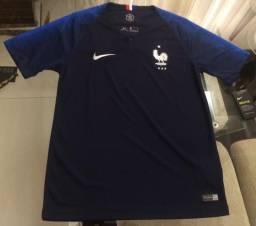 Camisa oficial França copa do mundo 2018